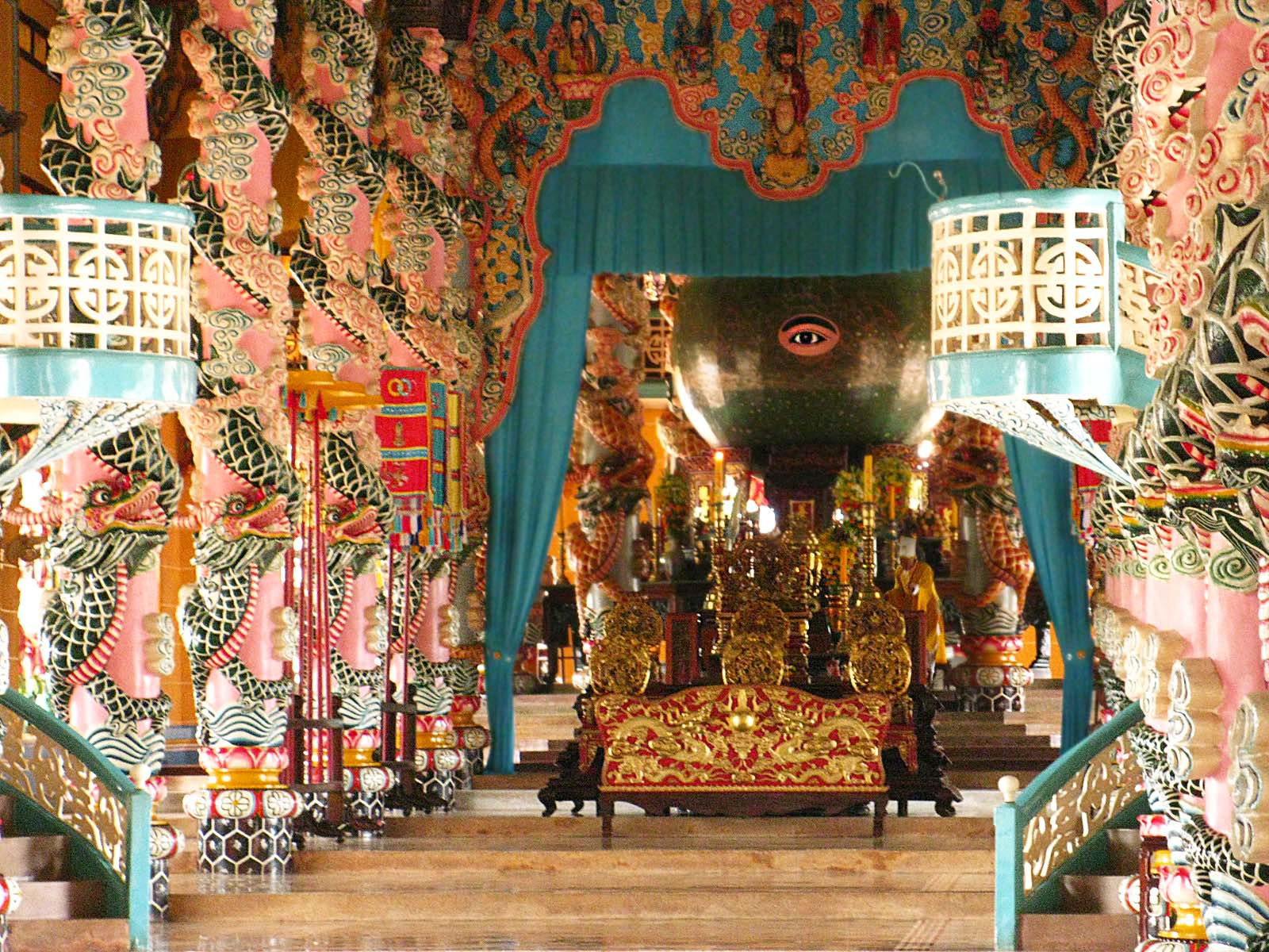 Cai Dao Temple Trang An